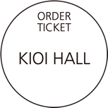 ORDER TICKET KIOI HALL